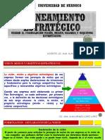 Sesion II Formulación, Visión, Misión y Objetivos Estratégicos