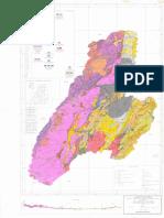 Mapa Geologico de Tolima (1995)