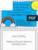 pa workshop for holy name preschool nestory