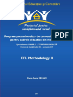 EFL Methodology II