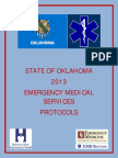 Field Edition 2013 State of Oklahoma Ems Protocols Version 2