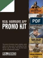 Real Warriors App Promo Kit