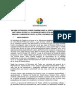 Informe de la Defensoría del Pueblo sobre el caso León