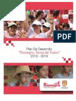 Plan de Desarrollo Rionegro, Tarea de Todos 2016-2019.pdf