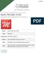 Master PDF Editor 3.4.00 | Mac Torrent Download.pdf