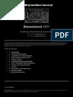 Bassesland Virtual Bass VST Software