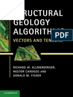 Structural Geology Algorithms - Vectors And Tensors (Richard W. Allmendinger).pdf