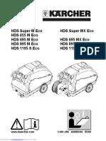 HDS Super M Echo Service manual