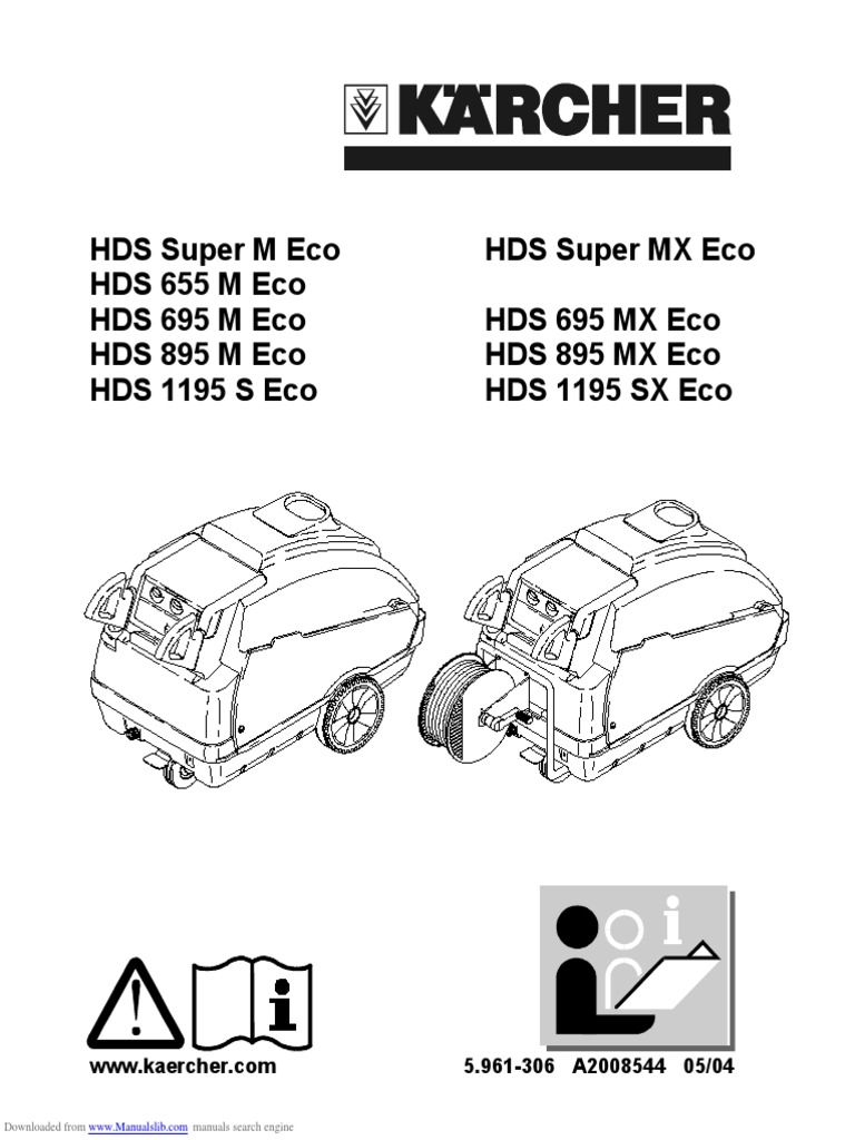 M инструкция eco hds 695