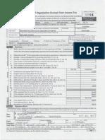 Sociedad Económica de Amigos del País's federal tax return for 2014