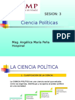 USMP. Sesión 3. Ciencias Políticas