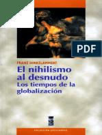 Hinkelammert, Franz (2001). El Nihilismo Al Desnudo