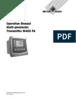OM Transmitter M400 PA en 30134634 Aug15