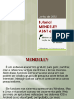 Tutorial Mendeley 2015 Abnt e Apa