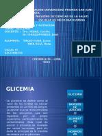 Seminario de Bioqumica - Glicemia