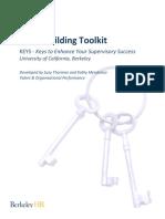 Team building tool keys