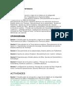 Selección de Contenidos Estructura Atómica