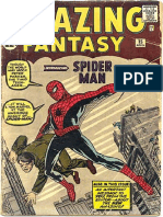 Amazing Fantasy 15 - Mancadas Do Aranha