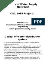 Design Water Supply