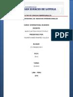 Tratados de Libre Comercio - Desarrollo Wilmer Ramirez Calleja