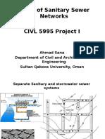 Design Sewer Network