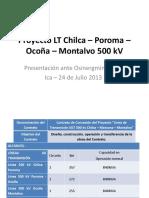 5 Linea 500 KV Chilca Marcona Montalvo - R.guerra
