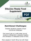 Presentation Sibusiso Ready Food Supplement October 2010 PDF