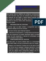 Manual Para Visualizacion de Dvr en Internt