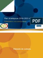 Plan stratégique 2016-2021 du CÉF