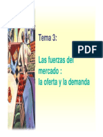 Modulo III Las Fuerzas Del Mercado La Oferta y La Demanda