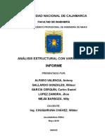 Informe_Diseño Estructural Con Variogramas