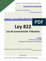 01 Ley 822 Con Sus Reformas - Revisión Nº 1 Al 12-Mar-2015