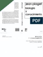 Biología y Conocimiento. PDF