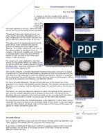Astronomy Polar Aligning Step