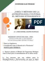 Teoría y Método de La Antropología Cultural. El Método Etnográfico