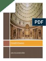 Ciudades romanas y su urbanismo