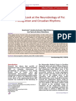 A Sideways Look at the Neurobiology of Psi. Precognition and Circadian Rythms