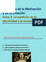 Tema 2_La Medición de La Afectividad y La Emoción