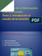 Tema 1_Introducción Al Estudio de La Emoción