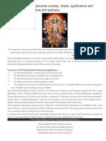 Shri Panchamukhi Hanuman Worship