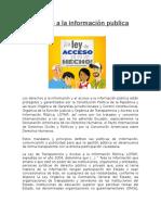 Acceso a La Información Publica