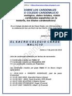 TODO SOBRE LOS CARDENALES - 90616