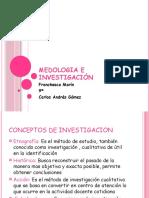 Medologia e Investigación Power point