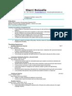 boisselle - resume
