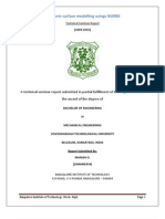 Freeform Surface Modelling Using NURBS SEMINAR REPORT