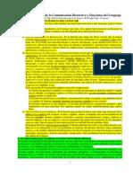 Taller I Estructura de La Comunicación y Funciones Del Lenguaje