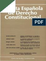 Revista de Derecho Constitucional
