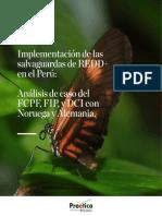 Implementación de las salvaguardas de REDD+ en el Perú