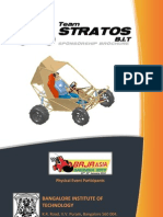Team Stratos BAJA Sponsorship Brochure