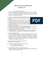 Cuestionario de Laley de Servicio Civil